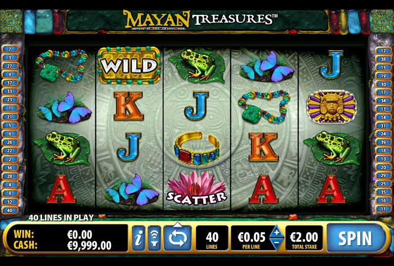 Mayan Treasures MCPcom Bally