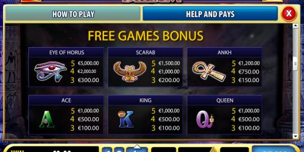 Pharaoh's Dream MCPcom Bally pay2