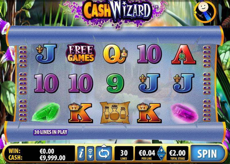 Cash Wizard MCPcom Bally