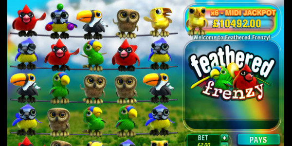Feathered Frenzy Reactors MCPcom Big Time Gaming