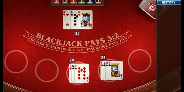 Auto Blackjack MCPcom Big Time Gaming3