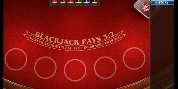 Auto Blackjack MCPcom Big Time Gaming