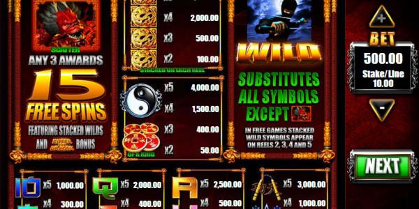Red Dragon MCPcom  Blueprint Gaming pay