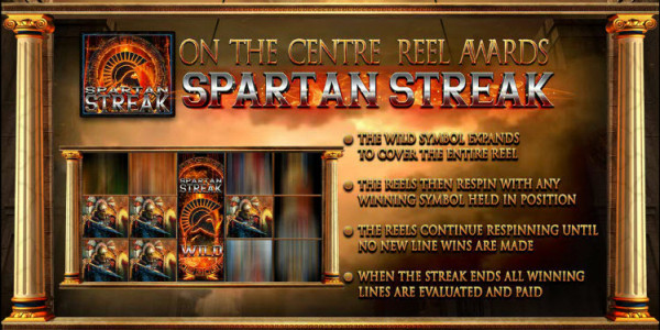 Fortunes of Sparta MCPcom  Blueprint Gaming pay