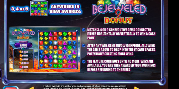 Bejeweled 2 MCPcom  Blueprint Gaming pay2