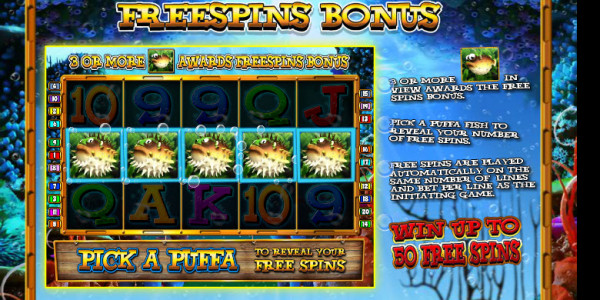 Deep Sea Treasure MCPcom  Blueprint Gaming pay2
