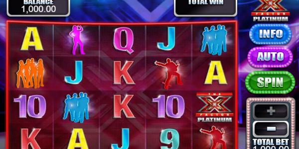 X Factor Platinum MCPcom  Blueprint Gaming