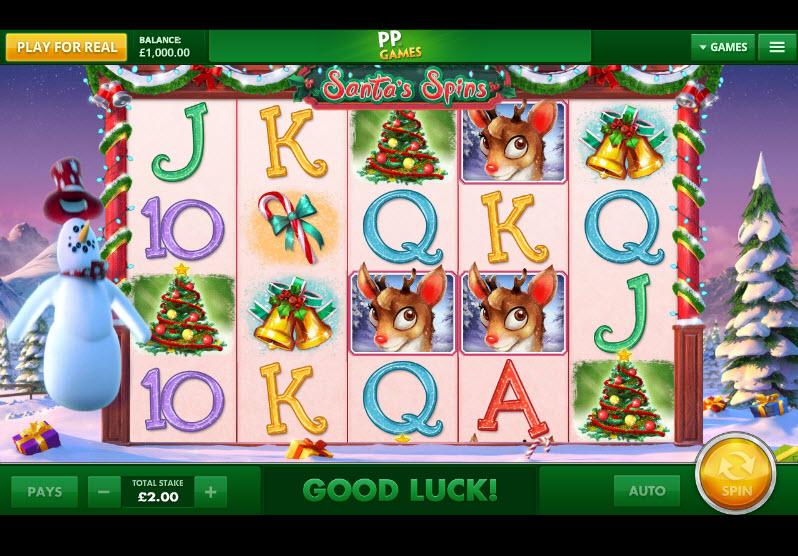 Santas Spins MCPcom Cayetano Gaming