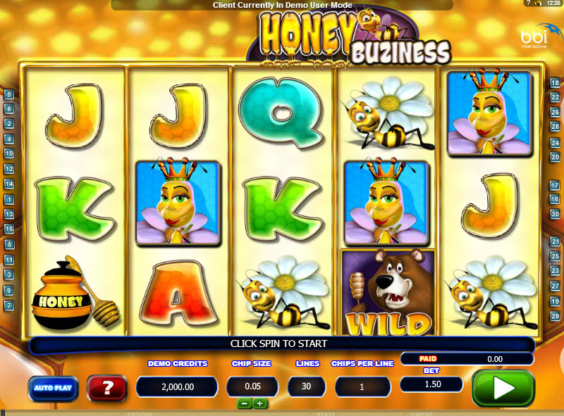 Honey Buziness MCPcom Bluberi