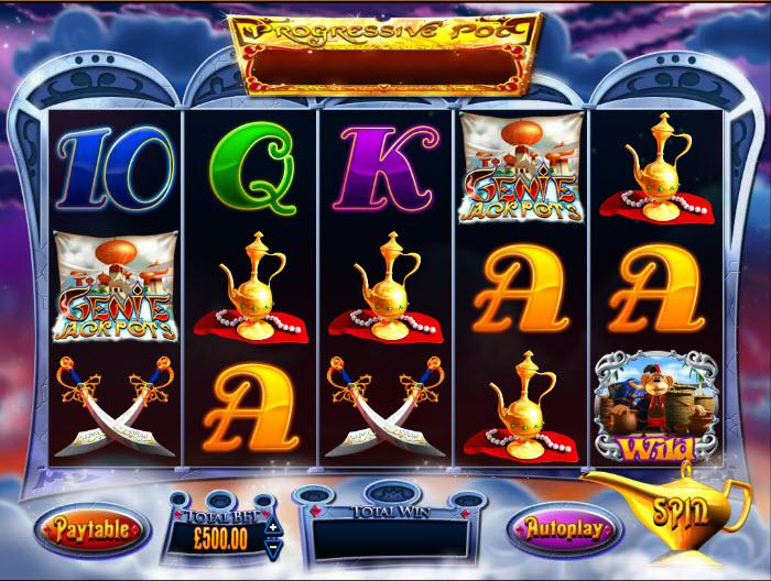 Genie Jackpots MCPcom Blueprint Gaming