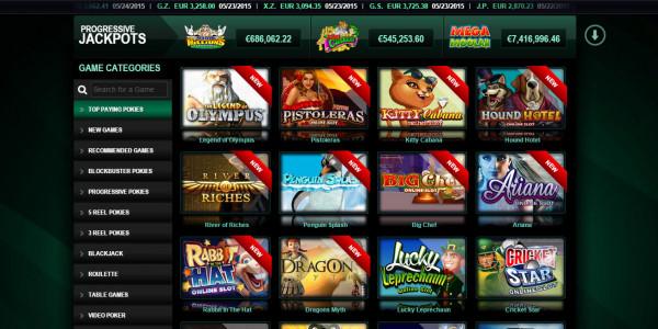 Casino Mate MCPcom games