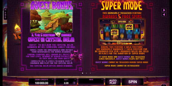 Hot as Hades Video slots by Microgaming pay