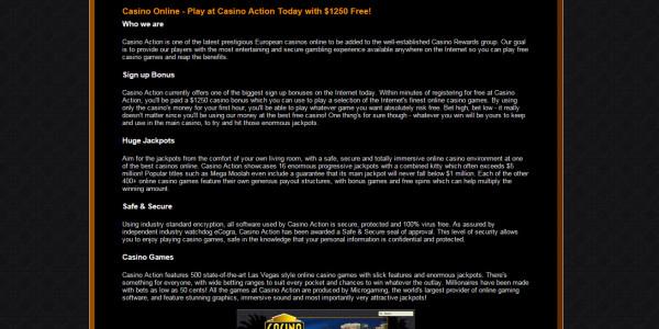 Casino Action MCPcom