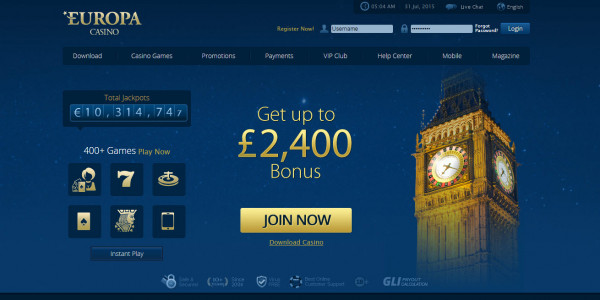Europa Casino MCPcom