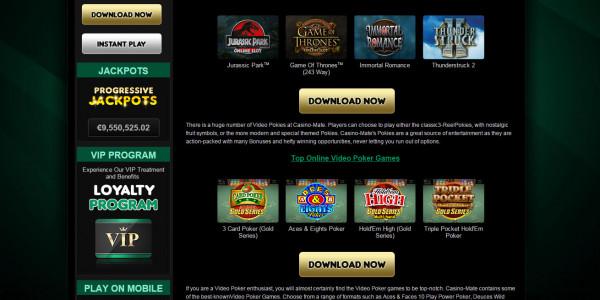 Casino Mate MCPcom games 2