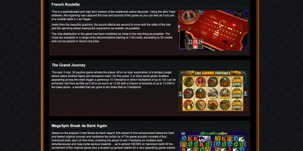 Casino Action MCPcom games2