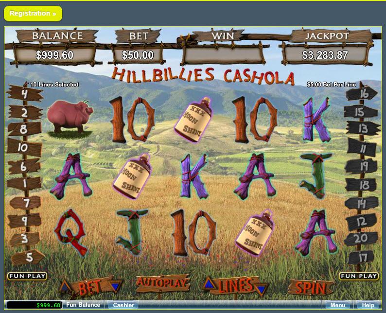 Hillbillies Cashola MCPcom RTG