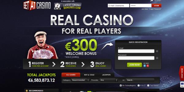 Betat Casino MCPcom home