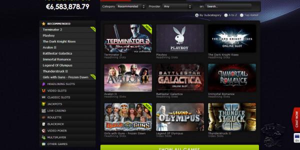 Betat Casino MCPcom games