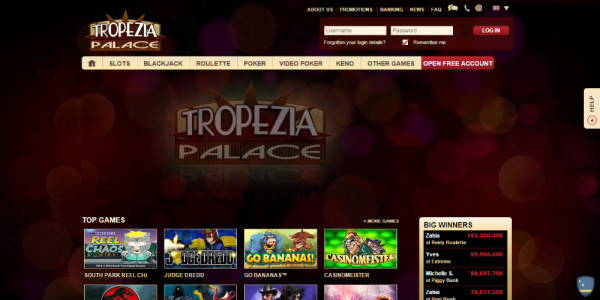 Tropezia Palace Casino MCPcom
