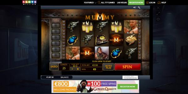 SlotsMillion Casino MCPcom games2