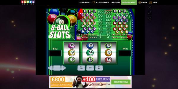 SlotsMillion Casino MCPcom games4