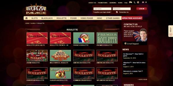 Tropezia Palace Casino MCPcom games5