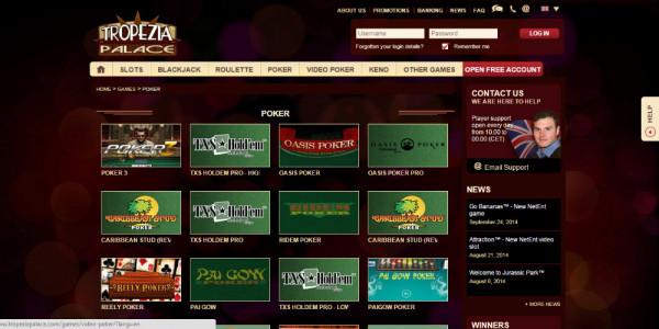 Tropezia Palace Casino MCPcom games7