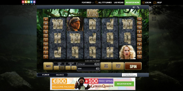 SlotsMillion Casino MCPcom games8