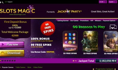 Slots Magic Casino MCPcom