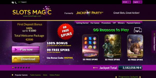 Slots Magic Casino MCPcom