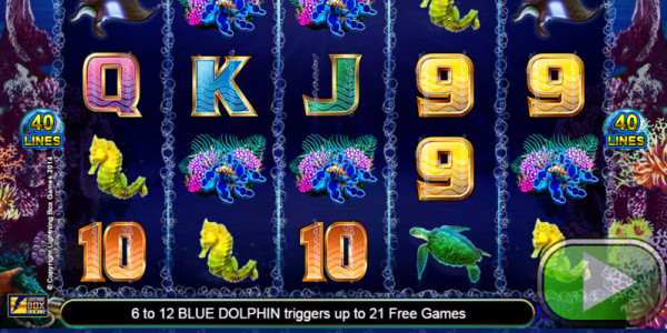 Dolphin Gold Video Slots by Lightning Box MCPcom
