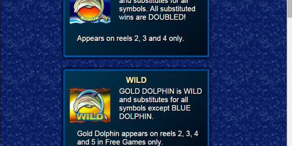 Dolphin Gold Video Slots by Lightning Box MCPcom pay