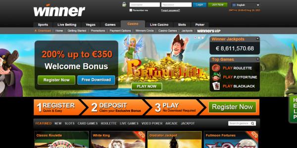 Winner Casino MCPcom