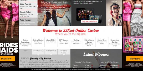 32 Red Casino MCPcom home2