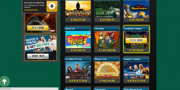 Euro Max Play Casino MCPcom 3