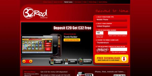 32 Red Casino MCPcom mobile