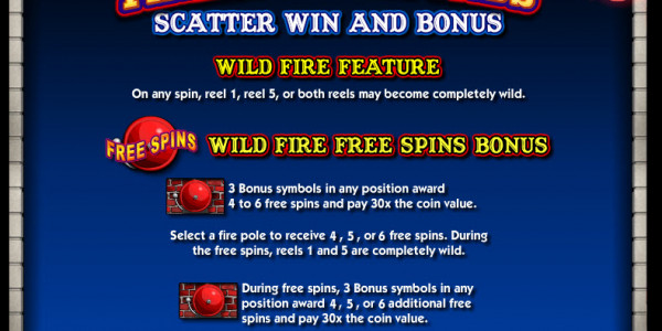 Firehouse Hounds Video slots by IGT MCPcom pay2
