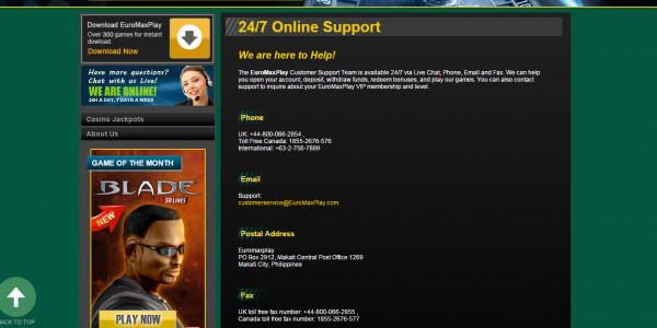 Euro Max Play Casino MCPcom 5