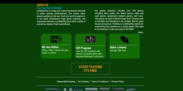 Euro Max Play Casino MCPcom 6