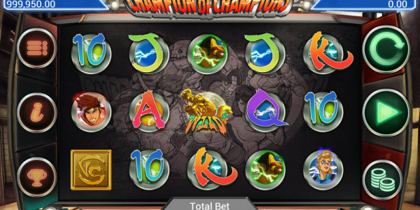 Champion of Champions Video Slots by AppleJack Gaming MCPcom