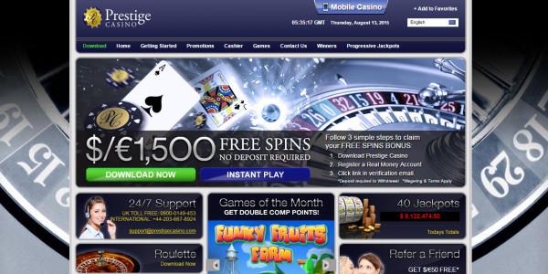 Prestige Casino MCPcom