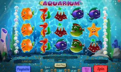 Аquarium Video Slots by Playson MCPcom