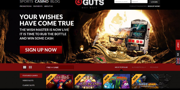 Guts Casino MCPcom