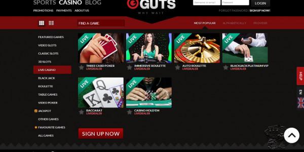 Guts Casino MCPcom 6