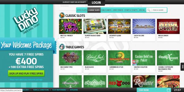 LuckyDino Casino MCPcom games2
