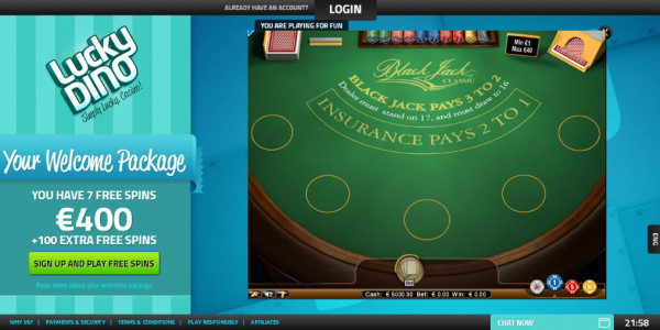 LuckyDino Casino MCPcom games4
