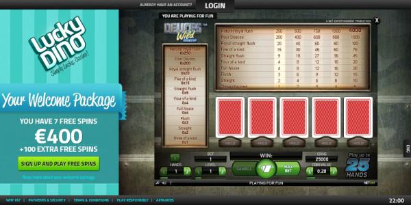 LuckyDino Casino MCPcom games6