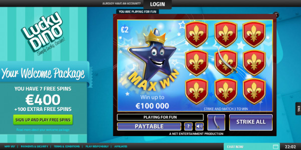 LuckyDino Casino MCPcom games7