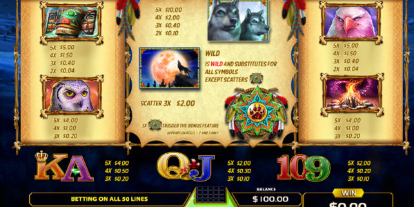 Wolf Quest Video Slots by GameArt MCPcom pay